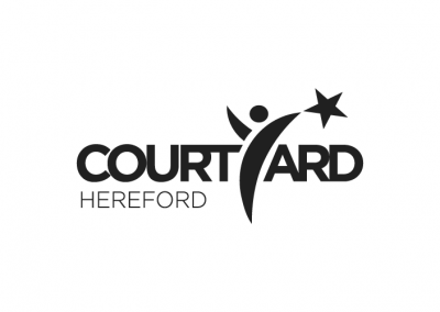 Courtyard Hereford arts brand