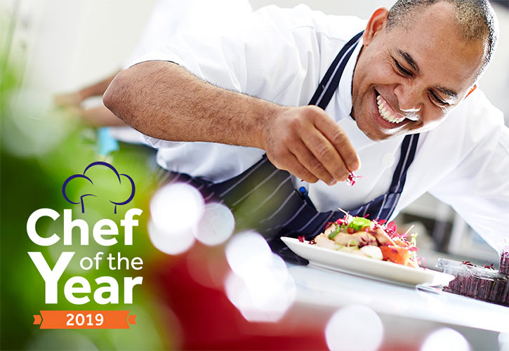 Anchor Hanover's Chef of the Year 2019 competition at Unilever HQ